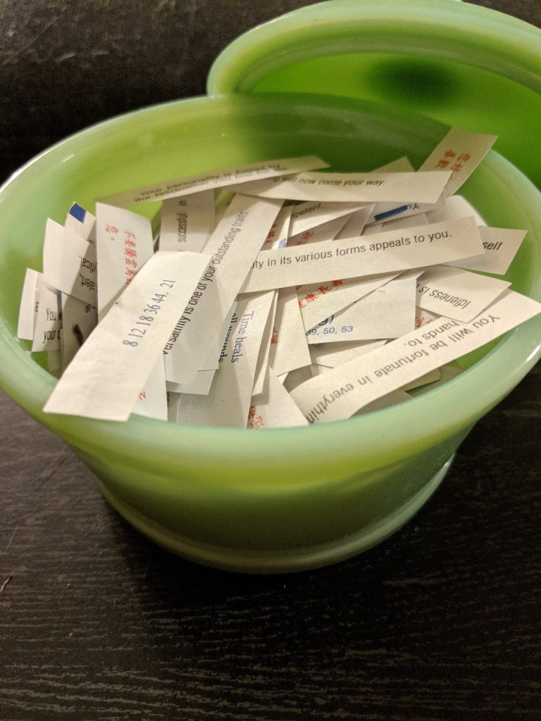 Saved Collection of Fortunes
